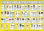S-79 English Phonics Chart A4 (Two-sided, deskchart)